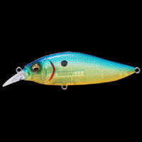 Воблер Megabass FLAP SLAP LBO col. SEETHROUGH BLUE BACK CHART