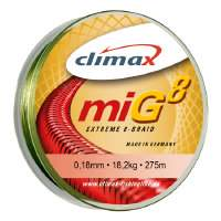 Шнур Climax Mig Extreme 8 Braid Olive-Moss Green